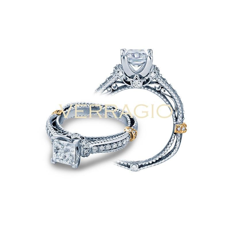 Verragio Pave Diamond Engagement Ring