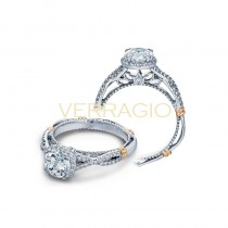 Verragio Parisian Collection Engagement Ring D-106R-GOLD