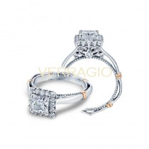 Verragio Parisian Collection Engagement Ring D-112P-GOLD
