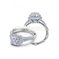 Verragio Parisian Collection Engagement Ring D-117CU-GOLD