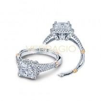 Verragio Parisian Collection Engagement Ring D-117P-GOLD