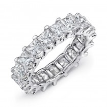 Uneek Platinum Princess Cut Diamond Eternity Band -ETPC600