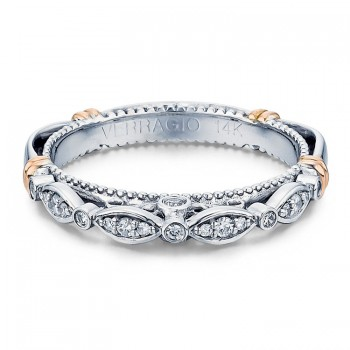 Verragio D-100W Wedding Ring