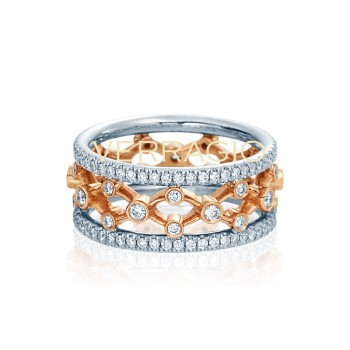 Verragio Eterna Collection Diamond Eternity Band WED-4024WWW-GL