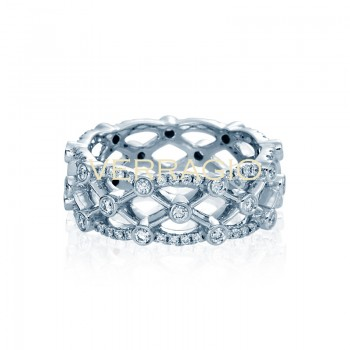 Verragio Eterna Collection Diamond Eternity Band WED-4026R-GOLD