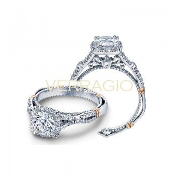 Verragio Parisian Collection Engagement Ring D-109CU-GOLD