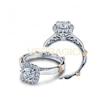 Verragio Parisian Collection Engagement Ring D-118CU-GOLD