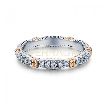 Verragio Parisian Collection 14k Gold Wedding Ring D-W101-GOLD