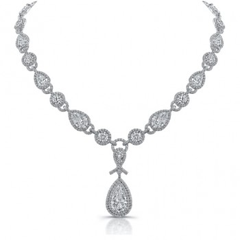 "The Uneek ""Signature"" Diamond Necklace, in Platinum"